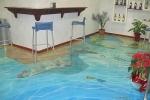 3D наливной пол в морском стиле